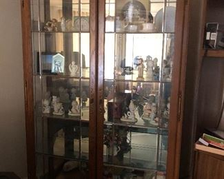 China Cabinet, Precious Moments & Hummels