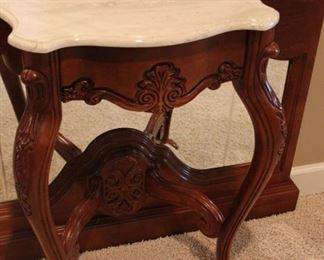 Close up of table