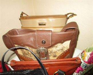 VINTAGE PURSES (SOME DESIGNER)