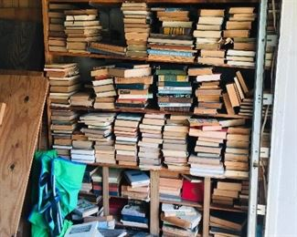 We have tons of books
