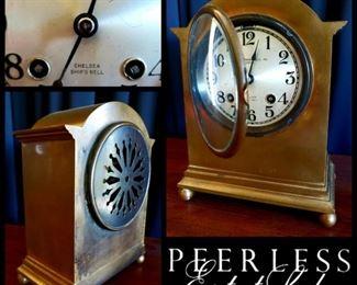 heavy brass Chelsea Ship's Bell clock by BIGELOW, KENNARD & CO., INC.  BOSTON