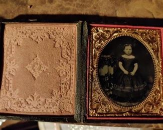 Antique Photography(Ambrotype)