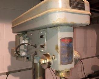 Vintage Rockford Tool Co drill press