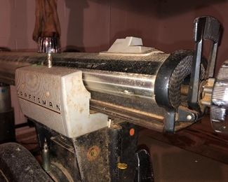 Vintage Craftsman radial arm saw