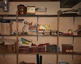 Vintage books, etc.