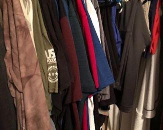 Mens' clothing