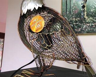 Eagle decorative fan