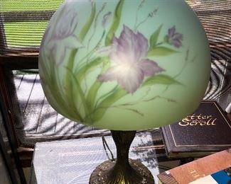 Hand painted lamps, 2