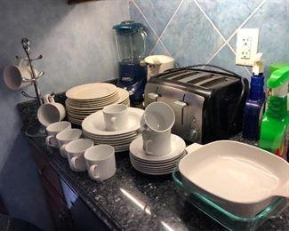 Crate & Barrel dinnerware