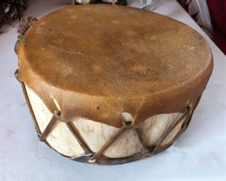 Native American hand made drum