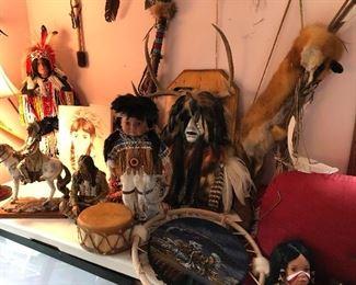 Authentic Native American decor