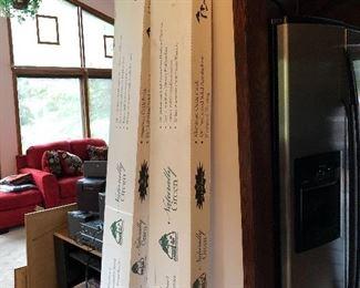 Honey Oak wood, 2 boxes