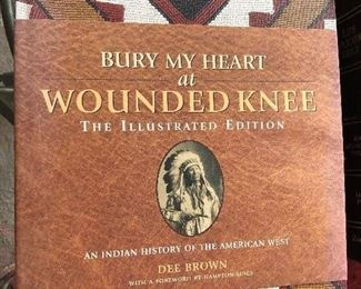 Bury My Heart at Wounded Knee coffee table book, by Dee Brown