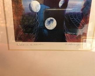 Dream Weaver signed print