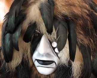 Cheyenne Dog Soldier spirit mask