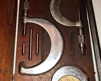Vintage Machinist gauges
