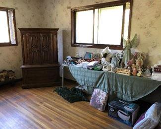 Armoire, seasonal decor