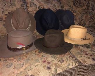 Men's hats.....
