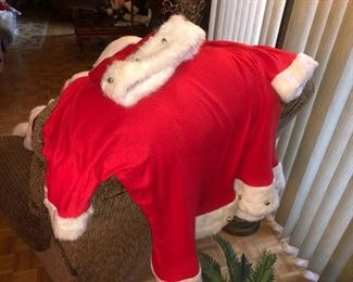 Santa costumes.....