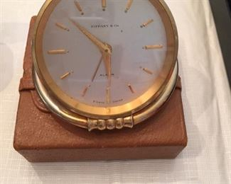Tiffany clock