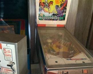 Gold Strike pinball machine
