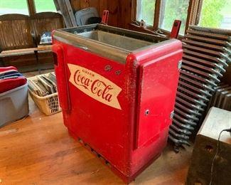 Vintage Glasco Coca Cola Coolers