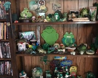 More frogs