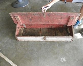 wooden buggy or truck box