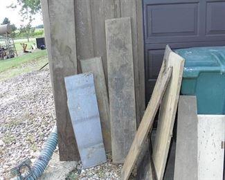 assortment of wood