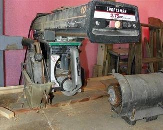 Craftsman 2.75 hp saw