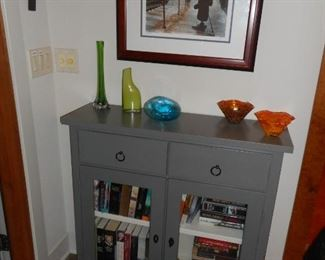 Buying & Design Italy Cabinet for Crate & Barrel; Glass Eye Bowls