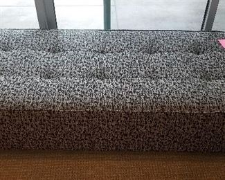 Fabric large end of bed seat