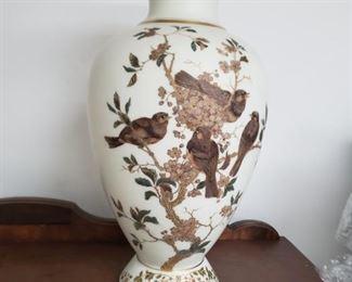 Asian inspired vase.