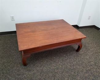 Asian inspired coffee table.