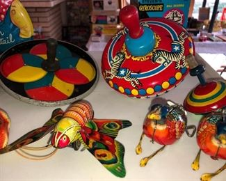 Tin toys