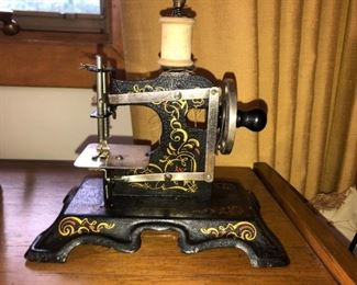 Made in Germany antique child's sewing machine