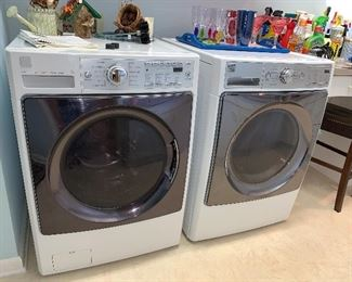 Kenmore Elite Front Load Washer and Dryer, purchased in 2014.  $450 pair