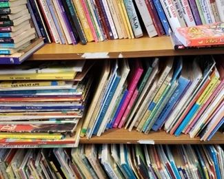 Thousands of childrens books
