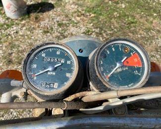 Gauges for Honda Motorcycle!