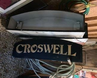 """2 Outdoor Lighted Signs 53"""" x 16.5""""!"""