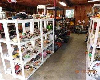 Garage is full.
