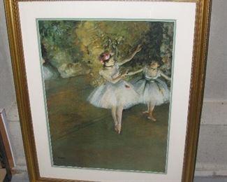 Degas print