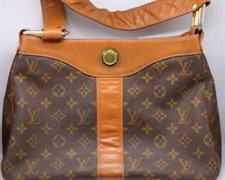 COUTURE Vintage Louis Vuitton Handbag and Wallet
