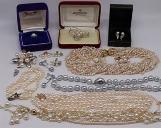 JEWELRY Assorted Pearl Jewelry Inc Mikimoto