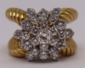 JEWELRY Hammerman Bros kt Gold and Diamond