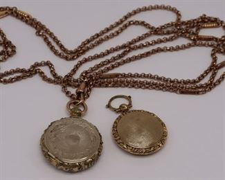 JEWELRY Vinaigrette Pendant Grouping with Chain