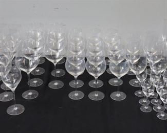 Large Grouping of Rosenthal Stemware