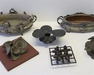 Lot Of Assorted Antique Metal Items