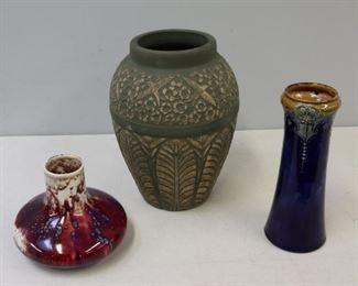 Lot Of Assorted Art Pottery