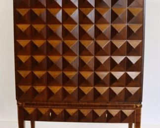 Maitland Smith Signed Entertainment Cabinet